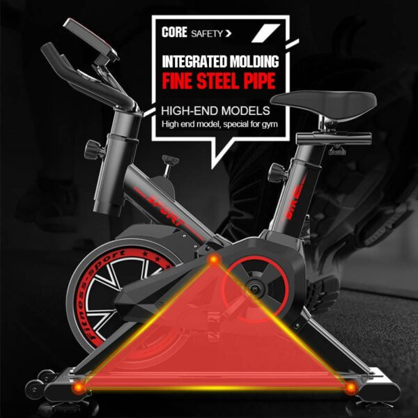 Professional Mute Home Exercise Bike Indoor Sports Training Cycling Bikes Body Building Household Gym Fitness Equipments 150KG