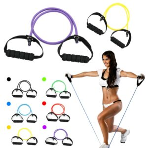 Fitness Yoga Pull Rope Elastic Resistance Bands Fitness Rope Rubber Bands Expander Exercise Tube Training Gym Workout Equipments