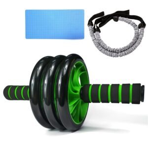 Gym Trainer Ab Roller Training Home Fitness Double Wheel stable Abdominal Power Wheel abdomen Muscle Exercise Equipment