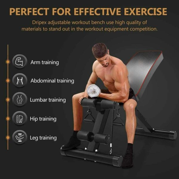 NEW Household Fitness Workout Gym Exercise Training Equipment Indoor Fitness Foldable Fitness Stool Dumbbell Bench Sit Up Stool
